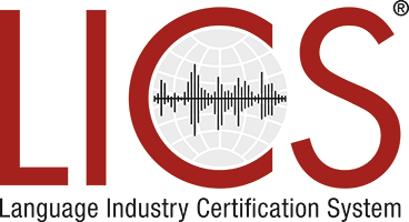Language Industry Certification System